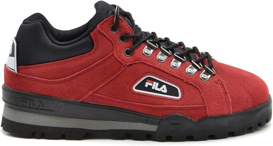 Fila MCBI37948 - Zapatillas de Ante para Hombre, Color Rojo ...