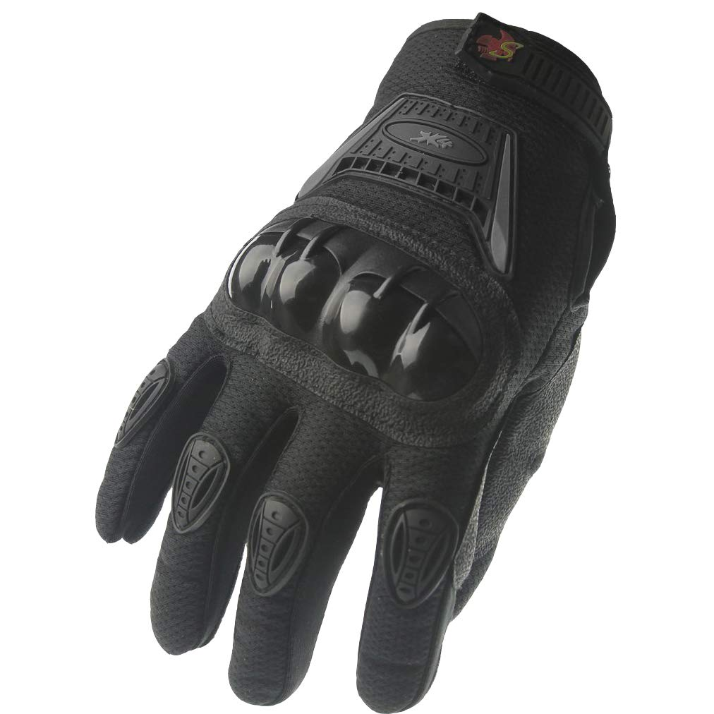 Street Bike Full Finger Motorcyle Gloves 09