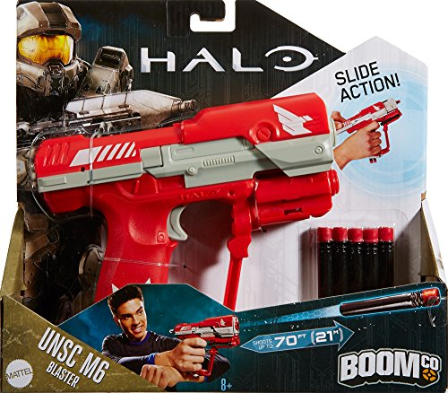 Modded Nerf Gun BoomCo M6 Halo Inspired Cosmetic Modded for halo cosplay or  display prop blaster