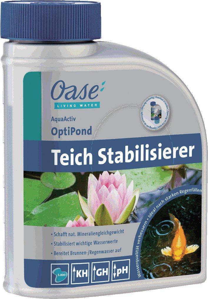 OASIS Water Treatment Aqua Activ OptiPond 500ml, silver 43149