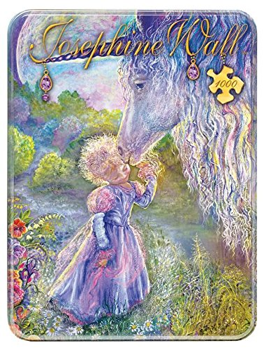 MasterPieces Unicorn Kiss Collectible Jigsaw Puzzle, Art by Josephine Wall, 1000-Piece