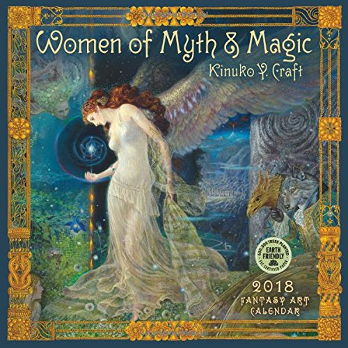 Women of Myth & Magic 2018 Fantasy Art Wall Calendar