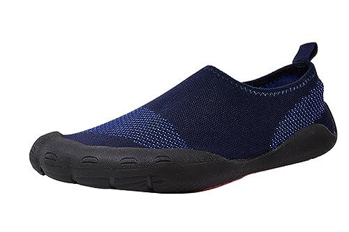 Insun Unisex Zapatos de Agua Escarpines Zapatillas Calzado EN Playa Arena Rocas Mar Río Piscina Deporte Buceo Surf Natación: Amazon.es: Zapatos y ...