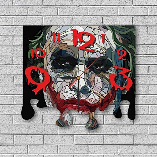 Deadshot Original Costume (Joker - Batman 11.8'' Original Handmade Wall Clock - Get unique décor for home or office – Best gift ideas for kids, friends, parents and your soul mates)