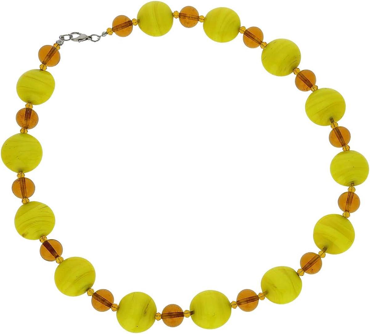 Desert Sands GlassOfVenice Murano Glass Wonders Necklace