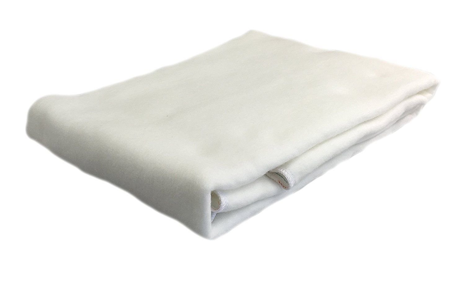 Koni Marriott Mattress Pad/Protector, Non-Quilted w/Anchor Bands, White, Polyester, Queen (63''x79'')