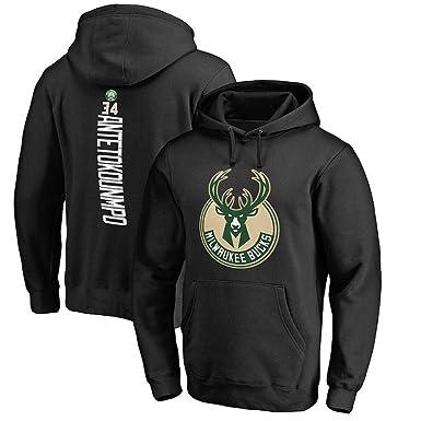 New Era Milwaukee Bucks, Felpa con Cappuccio Uomo