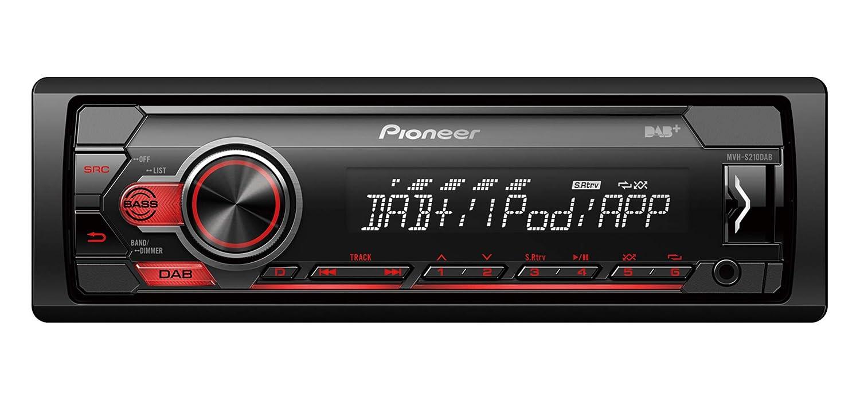 Pioneer MVH-S310BT Car Stereo Digital Media Receiver with Bluetooth USB Aux