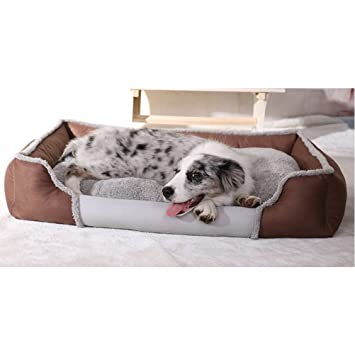 Zhhyltt Multifunción Sofá Cama para Perro Gatos Conejo Puppy Cat House Kennel Outdoor Animal Pet Dog Shelter Removable Cushions: Amazon.es: Productos para ...