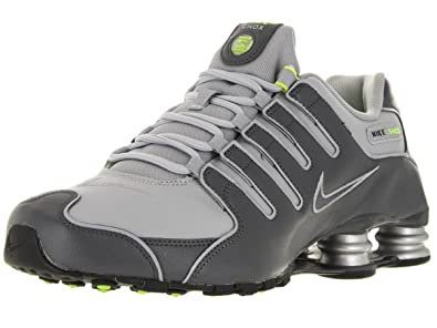 b2aa7c66802 Nike Shox NZ 378341 009 Mens Trainers Grey Size  10.5  Amazon.co.uk ...