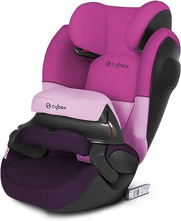 Oferta amazon: Cybex - Silla de coche grupo 1/2/3 Pallas M-Fix SL, silla de coche 2 en 1 para niños, para coches con y sin ISOFIX, 9-36 kg, desde los 9 meses hasta los 12 años aprox.Purple Rain