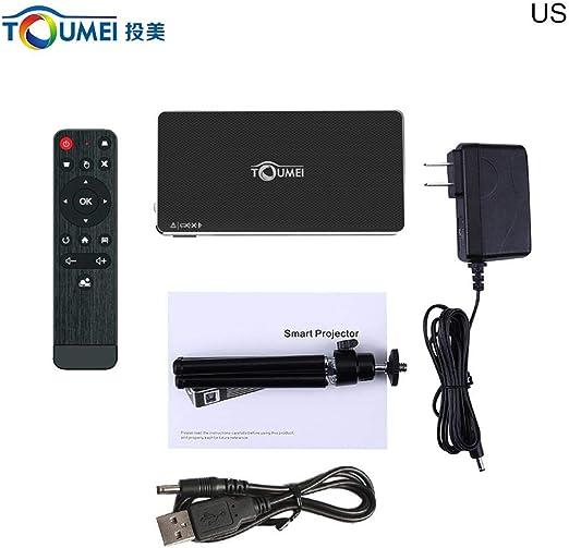 Proyector DLP – Mini Proyector portátil HD Pro HD 1080p Mini Smart ...