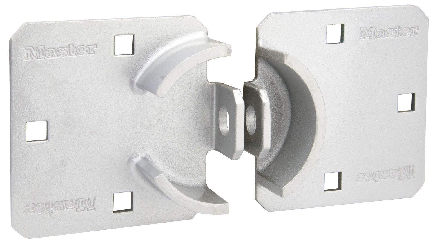 Master Lock Hasp, Solid Steel Hidden Hasp, 9 in. Wide, 770 (Pack of 4) by Master Lock (Image #2)