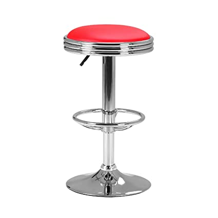 Amazoncom Lch 24 32 Adjustable Bar Stool Counter Height Swivel