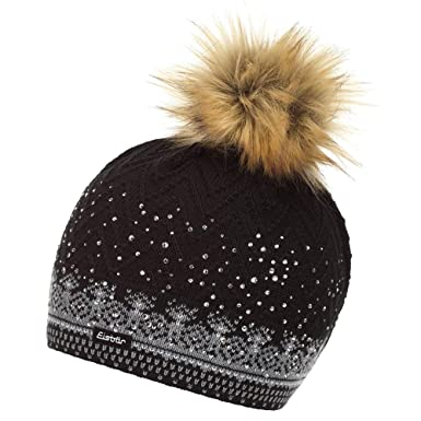 525fc7dc2dc Amazon.com  Eisbar Connor Lux Crystal Hat Womens  Clothing