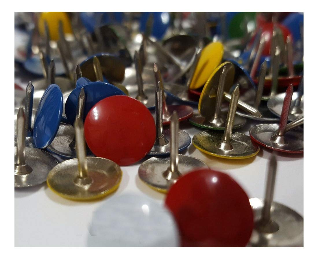 400 Assorted Color Push Pin Thumb Tacks Multi Color Head Office Home by Unknown (Image #7)
