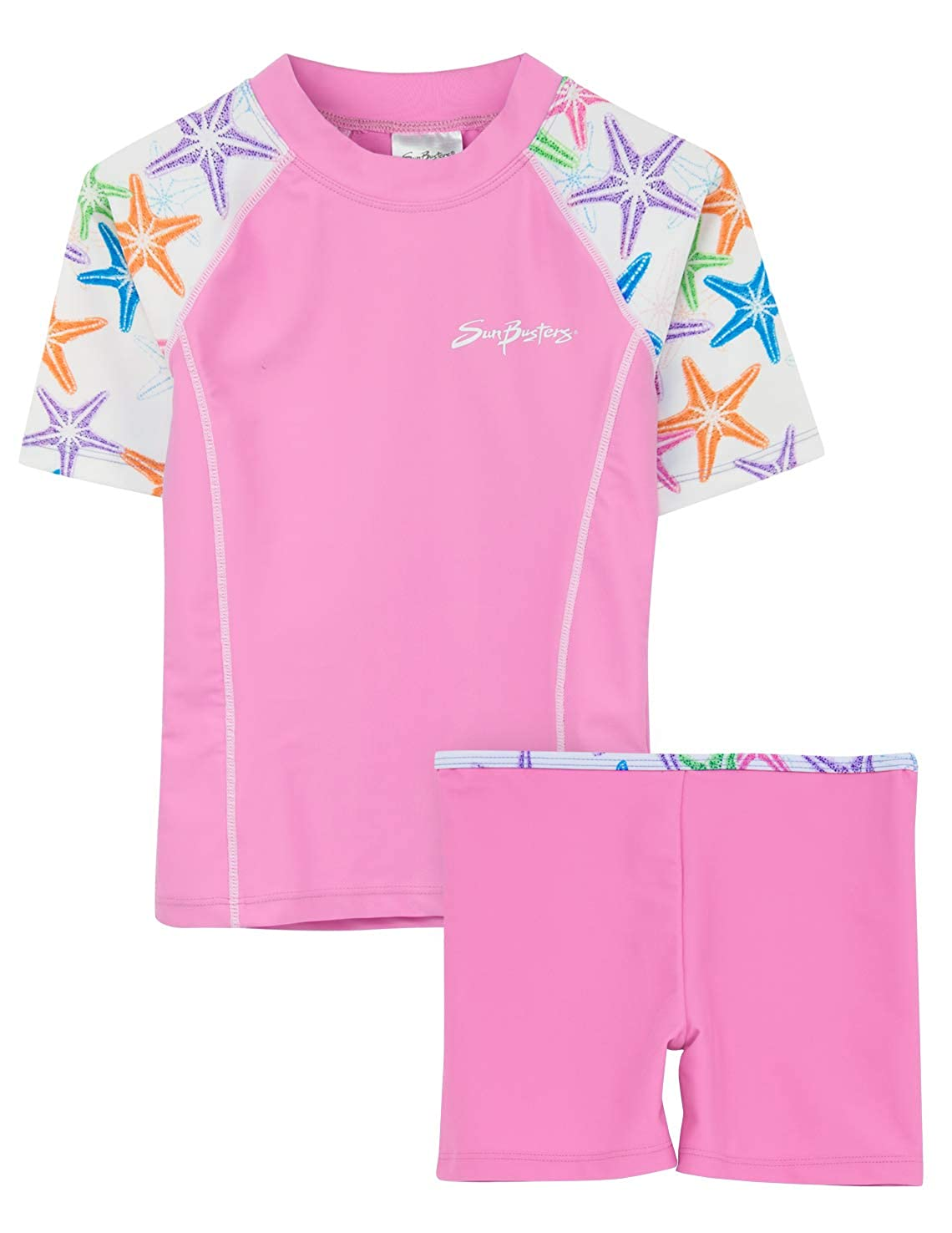 Sun Protection SunBusters Girls Fitted Swim Set 12 mos-12 yrs UPF 50