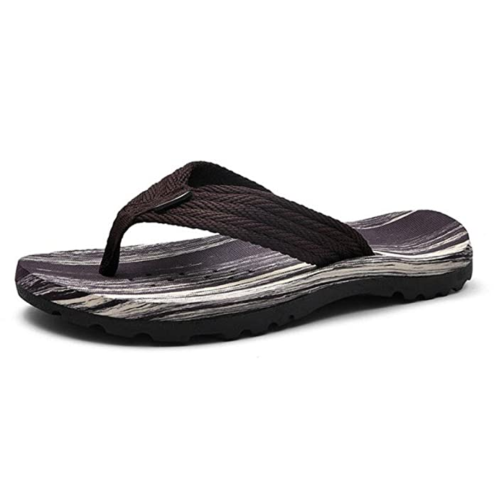 963bc7a4b CHENGXIAOXUAN Boys Flip-Flops Male Wear Skid Slippers Casual Beach Shoes  New Outdoor Flip Flops Webbing Rubber Sandals  Amazon.co.uk  Shoes   Bags