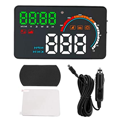 Proyector HUD, Universal 4inch Coche ABS HUD Head-Up Display ...