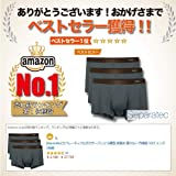 Separatec 3 Pack Men's Basic Bamboo Fiber Soft and
