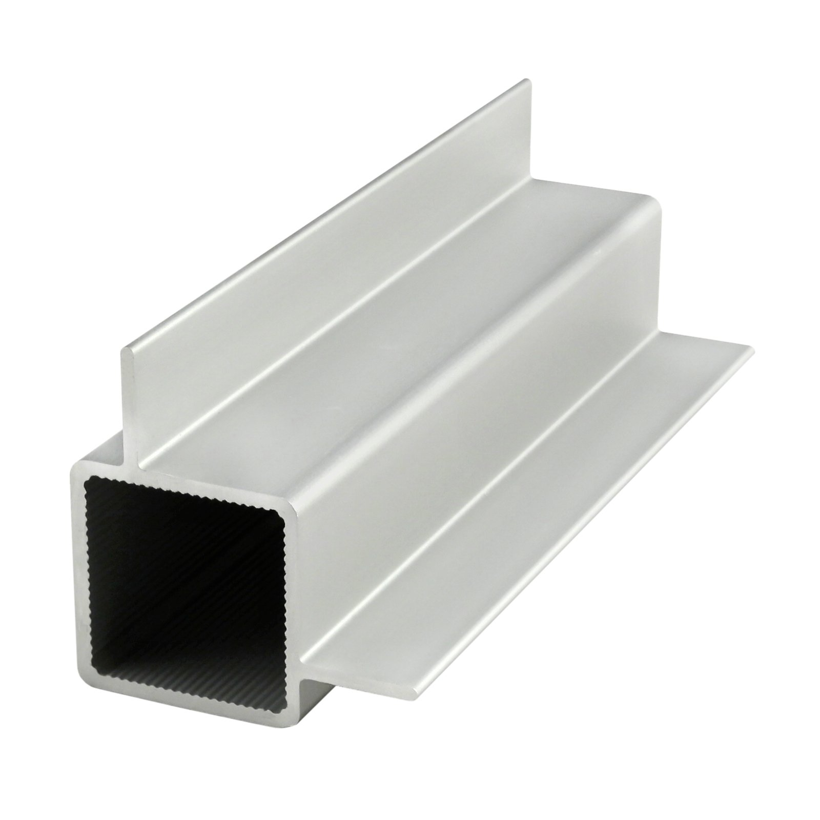 80/20 Inc., 9010, Quick Frame 1''X1'' Square Right Angle Double Flanged Tube X 72''