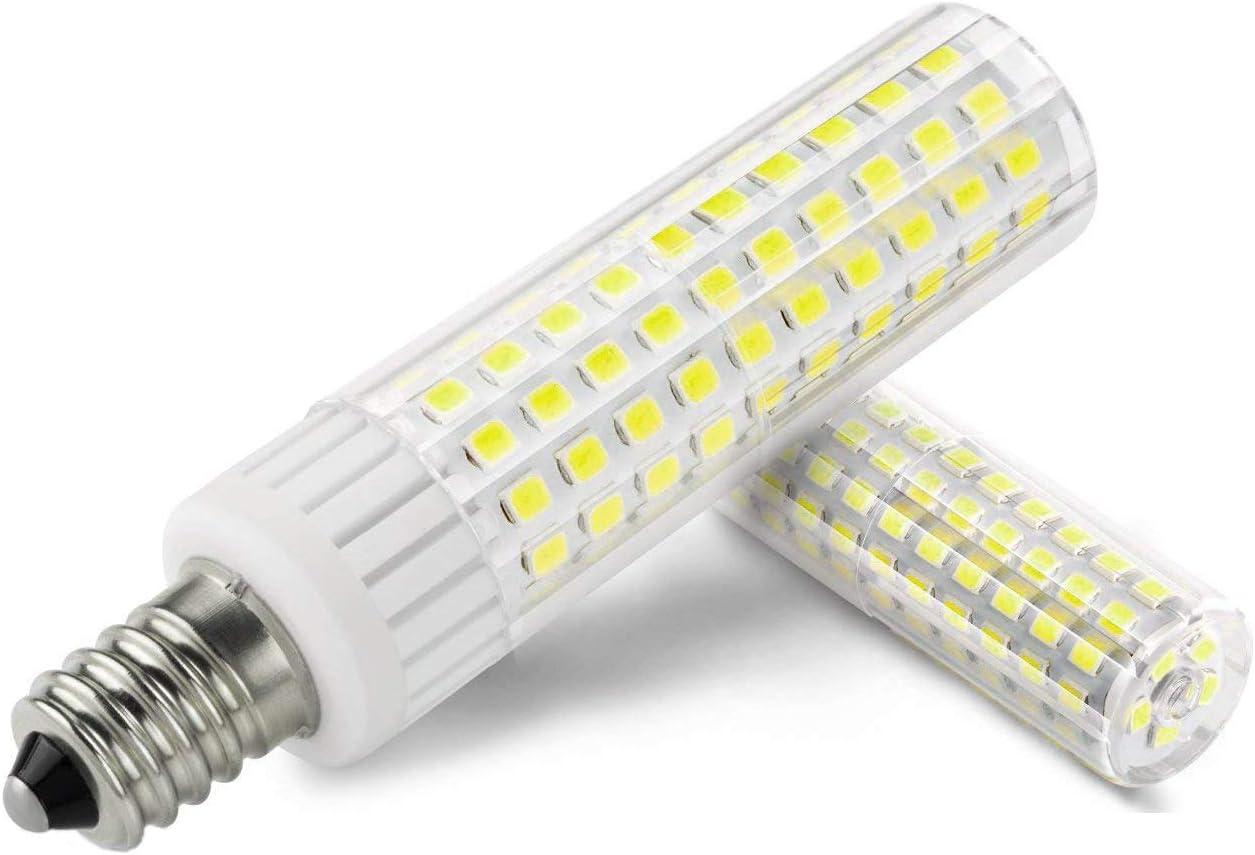1819 E14 LED Bombillas La última Bombilla 8.5W Equivalente a 100W Bombilla Halógena, Regulable, Brillo alto, 90V-265V Blanco Frío 6000K(1 unidades): Amazon.es: Iluminación