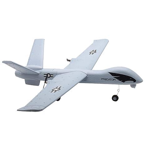 TOOGOO Z51 Predator 660mm Wingspan 2 4G 2CH Glider RC Airplane RTF Built-in  DIY US