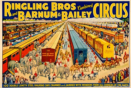 Old Circus Posters - 3
