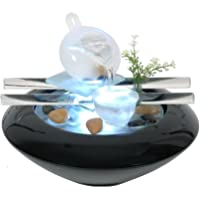 Zen Luz SCFV01 Tea Time Fuente Interior Negro