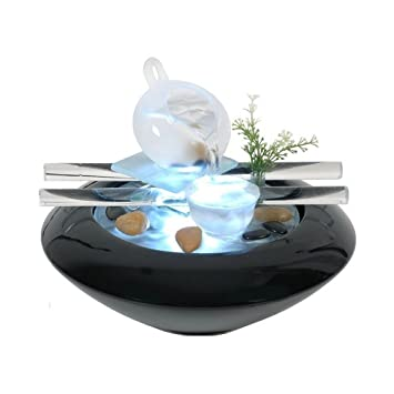 ZenLight Scfv Tea Time Fontaine DIntrieur Noir  X  X  Cm