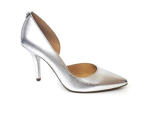 af578aee7d7 Michael Kors Women s Court Shoes Silver Size  6.5  Amazon.co.uk  Shoes    Bags