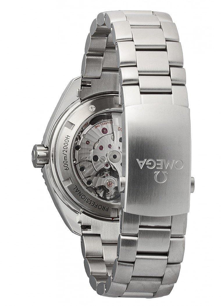 Omega Seamaster Planet Ocean 600M - Reloj (Reloj de Pulsera, Masculino, Acero, Negro, Luz metálico, Acero, Luz metálico): Omega: Amazon.es: Relojes