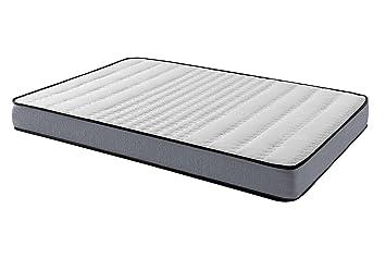 Sleepens - Colchón Viscoflex Viscoelástico con núcleo de Espumación HR de Alta Densidad, Alto -
