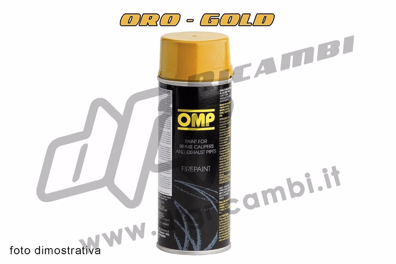 Peinture spray haute tempé rature pour dé versements É trier de frein –  Or –  Gold pc02001000002 DFGRICAMBI