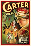 Carter The Great Poster Movie B 27x40
