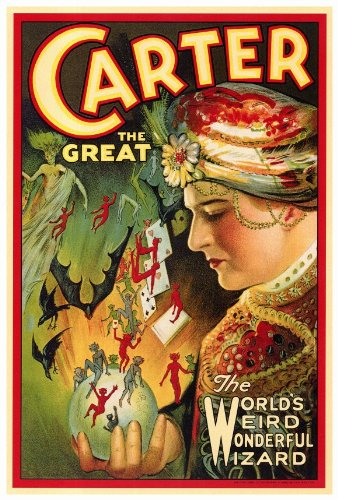 Carter The Great Poster Movie B