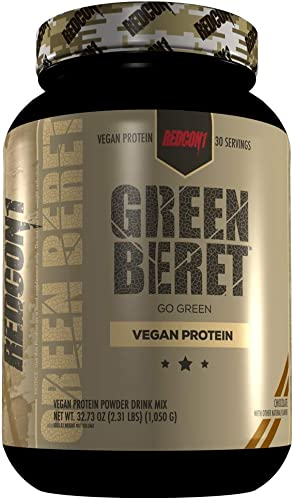 REDCON1 Green Beret Vegan Protein – Chocolate
