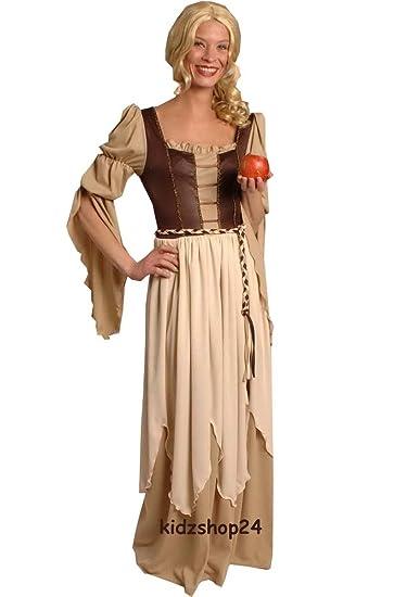 Kostüm Kleid Magd Mittelalter Gothic Larp, Gr. 36 38: Amazon.de ...