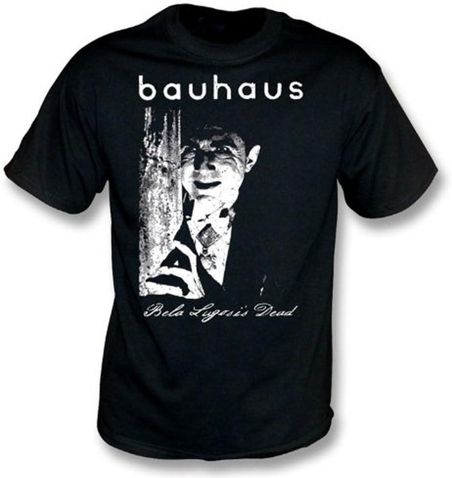 TshirtGrill Bauhaus Bela Legosis Dead T-shirt Color Black