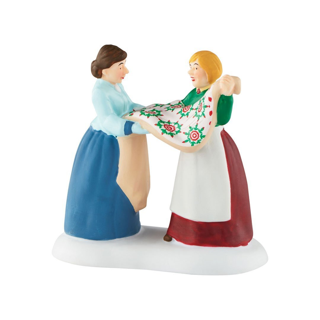 Department 56 New England Village Ms. Quilt Accessory Figurine