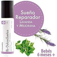 Bb*DulcesSueños - Aromaterapia para el sueño reparador de bebés de 6 a 24 meses. Con lavanda y mejorana - RollOn de 10 ml