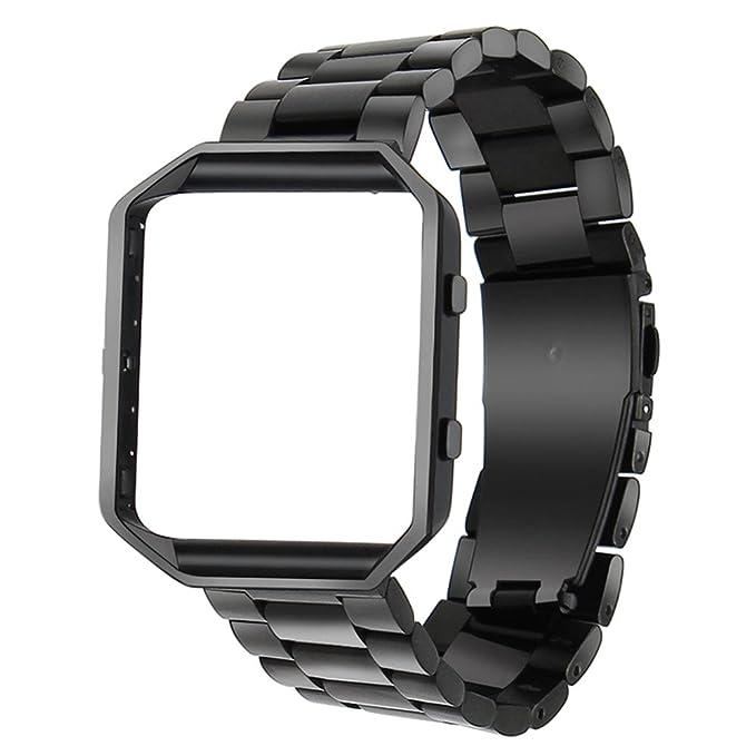 1 opinioni per Per Fitbit Blaze Band, TRUMiRR intelligente Watch Band con telaio in metallo
