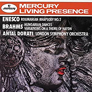 Enesco: Romanian Rhapsody No. 2 / Brahms: Hungarian Dances; Variations on a Theme of Haydn