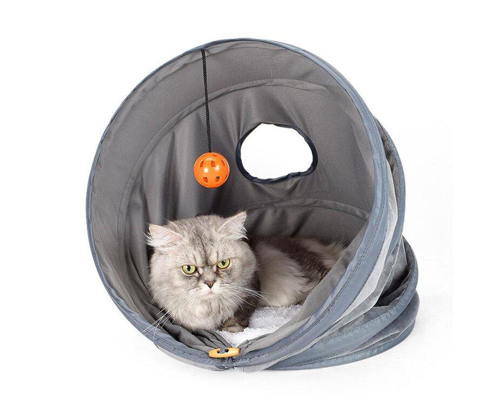 Medium Cutepet Tunnel Collapsible Kitten Interactive Hide Toy ST-639805