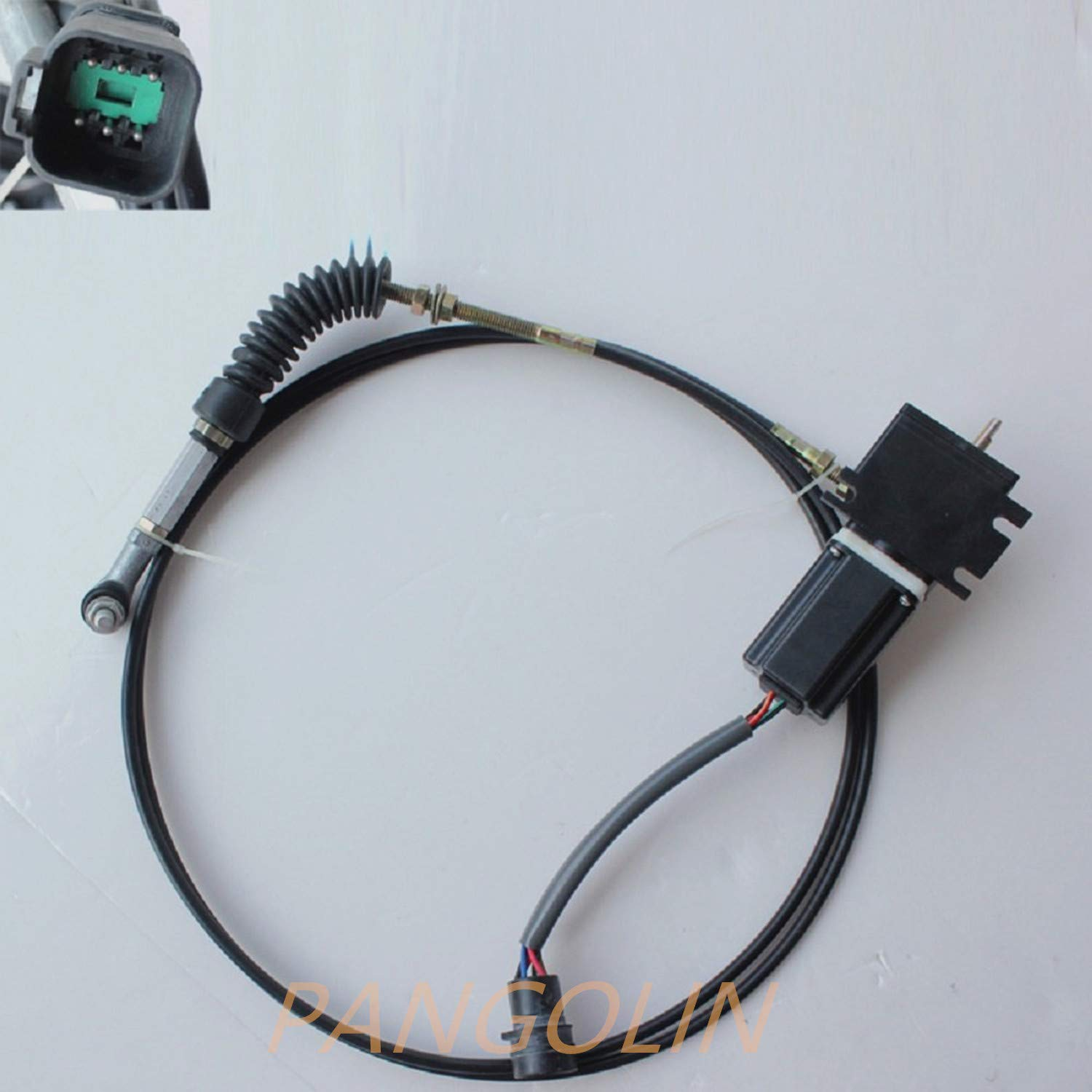 191-6840 1916840 Throttle Motor Governor Assy with Single Cable and 6 Pins for E308C 308C Excavator Speed Gas Accelerator Parts