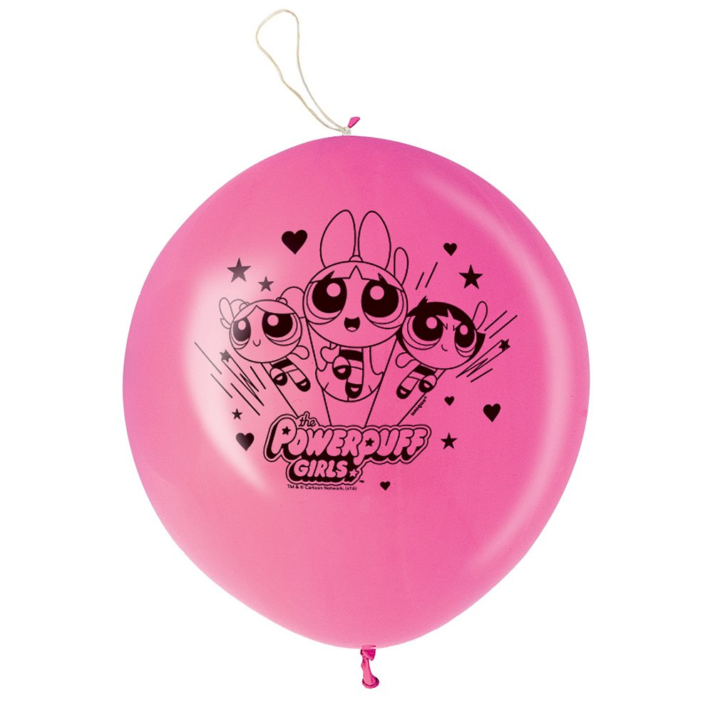 Powerpuff Girls Punch Ball Balloons, 2ct by Unique Industries