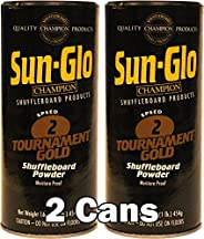 Sun-Glo #2 Shuffleboard Powder Wax (16 oz.) (Pack of 2)