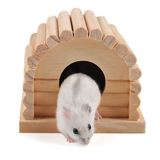 Happyhouse009 Casa de hámster Jaula de Dormir ratón Rat Nest ...