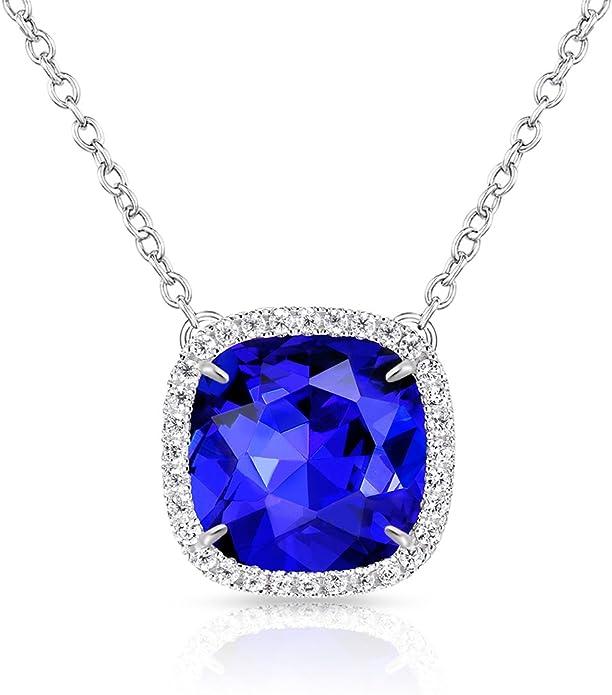 漂亮的施华洛世奇水晶制造项链