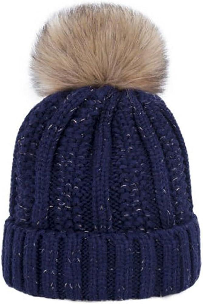 Winter Warm Hats Cute Plush...